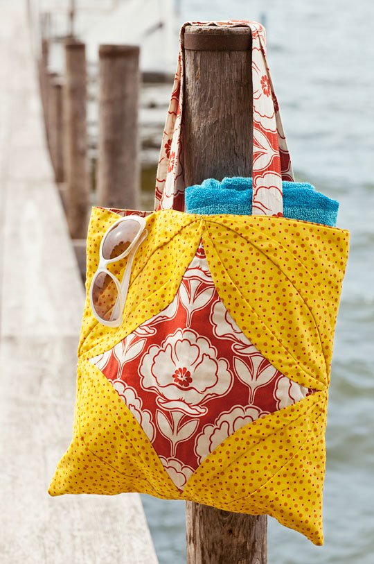 Sunny Beach Tote | AllPeopleQuilt.com